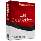 Edit Order Address